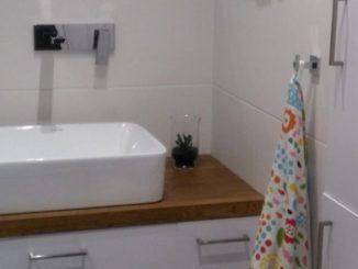 łazienka w wielkiej płyie